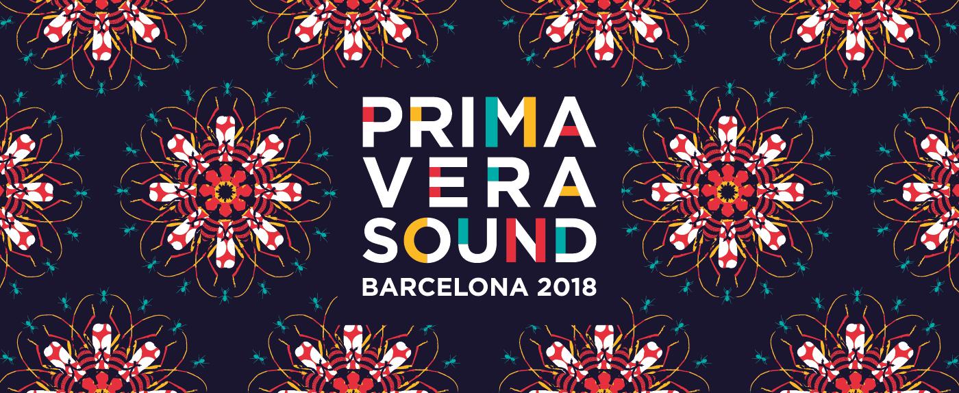 Resultado de imagem para poster oficial line up 2018 primavera sound